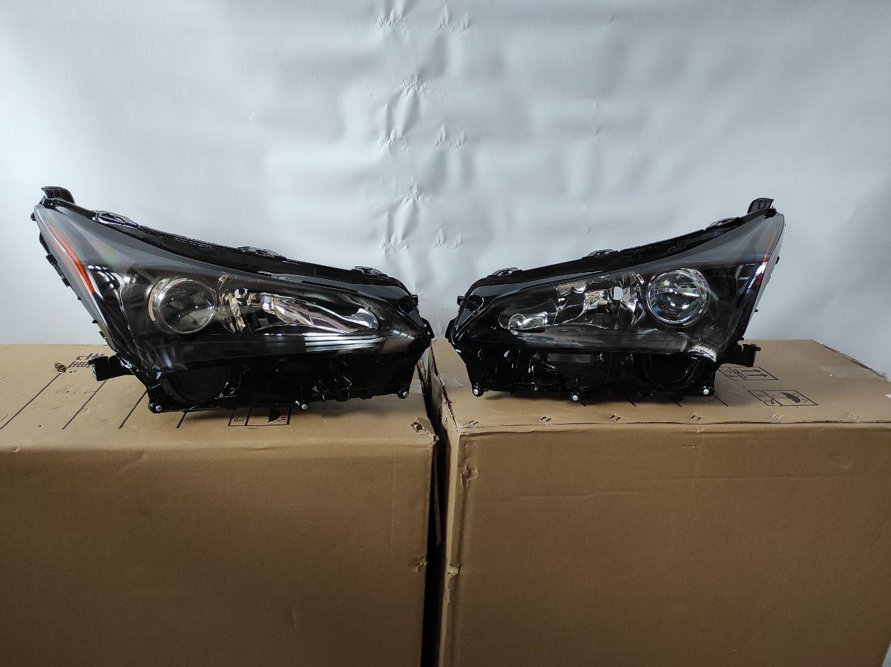 Lexus nx 200 2014-2020 фары бампер усилитель капот крылья  фара