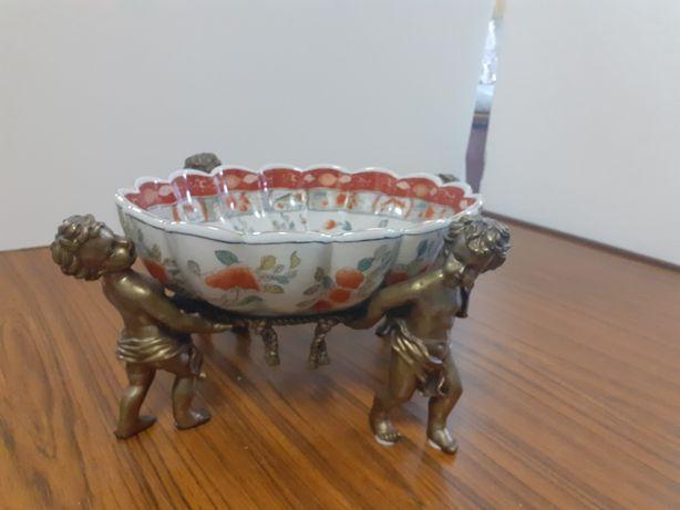 Taça em porcelana companhia das índias