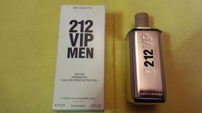 Carolina Herrera 212 VIP Men EDT 100 ml. Tester