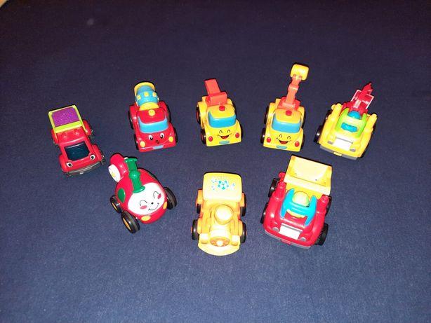 Samochodziki z napędem