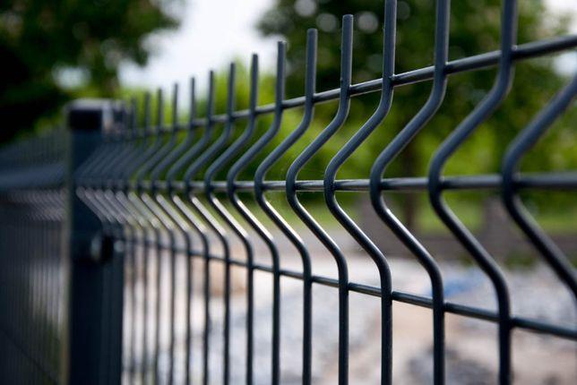 Panele ogrodzeniowe fi4mm h=1530 mm + podmurówka. Ogrodzenie panelowe