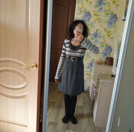 Платье тёплое на девушку подростка