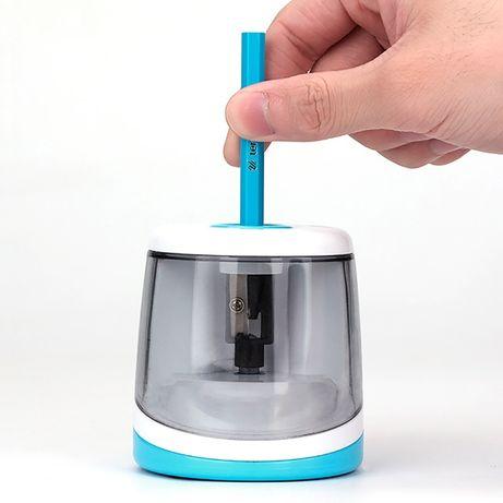 Точилка для карандашей электрическая Tihoo 8025 голубая