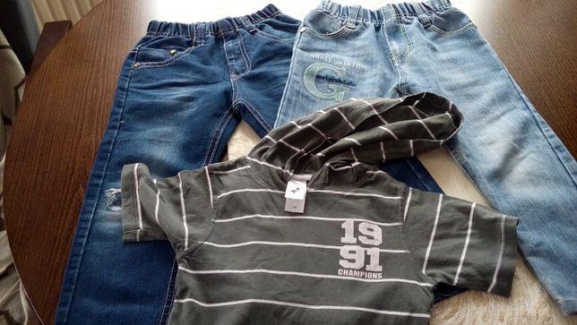 Ciuszki dla chłopca - Spodnie + bluzeczka