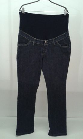 Bebefield jeansy, spodnie ciążowe, granatowe, rozm. 44
