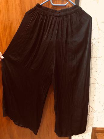 Calça Pantone rosa e preta