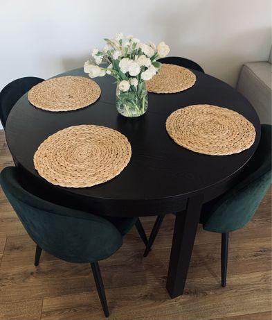 Stół okrągły Bjursta IKEA