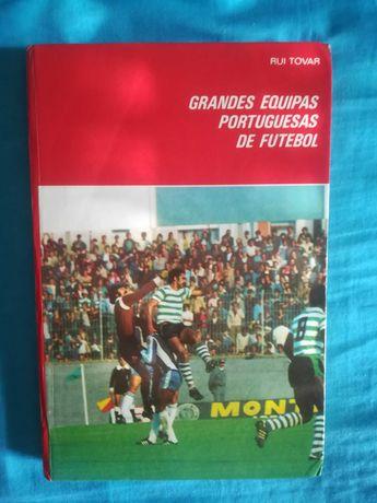 Livro grandes equipas de futebol Sporting + oferta de 9 posters