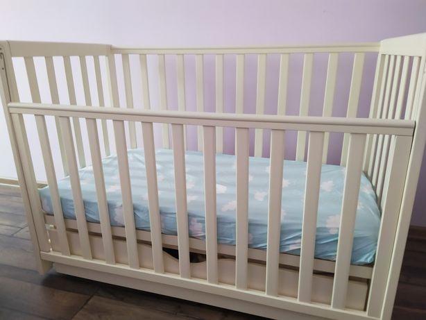 Детская кровать Верес, деревянная кровать с ящиком и матрас, Соня ЛД13