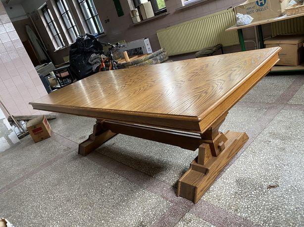 Stół drewniany dąb rustykalny(rozsuwany)
