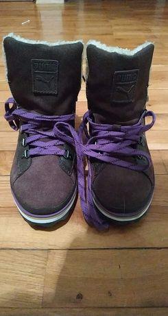 Buty ocieplane z pumy
