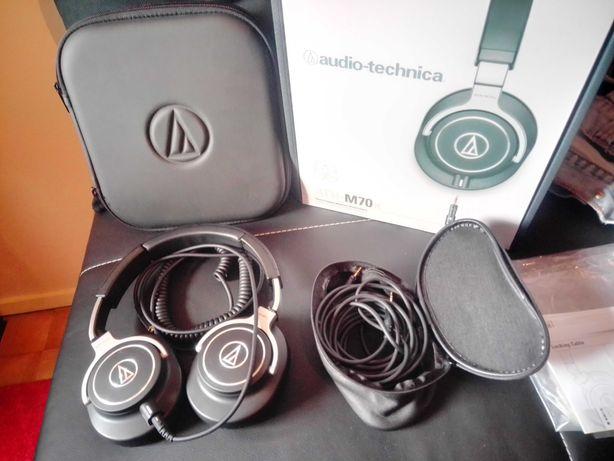 Vários - Audio-Technica ATH-M70 X - Shure SE215 - L6 Link Cable