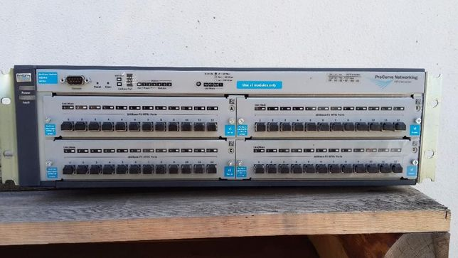 Коммутатор оптический Switch HPJ8770A с модулями HP J8763A
