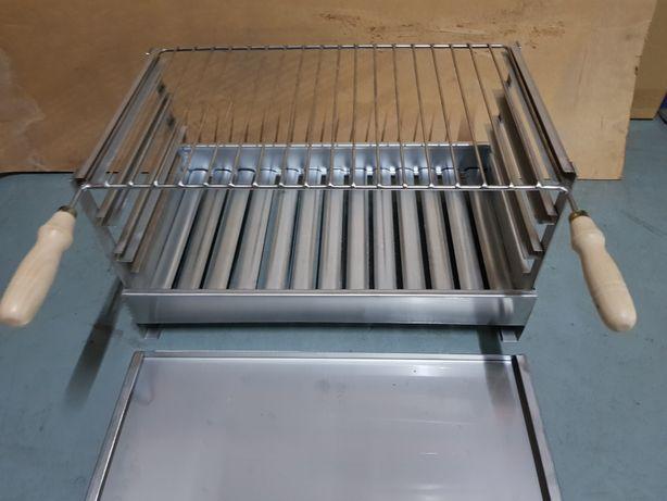 Grelhador / churrasqueira inox pousar 60cm