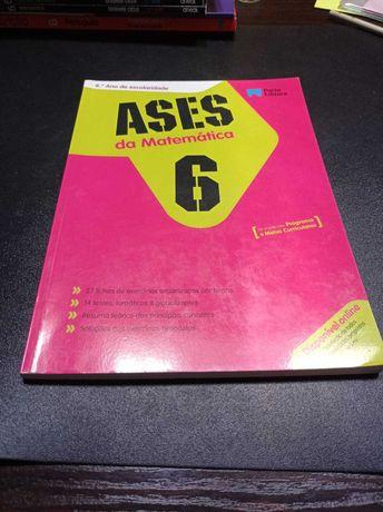 """Livro de Fichas """"Ases da Matemática""""-6ºano"""
