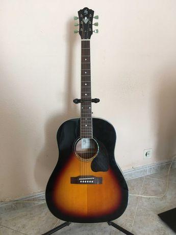 Réplica Gibson J45 (Harley Benton Custom Line CLJ-45E VS) COMO NOVA