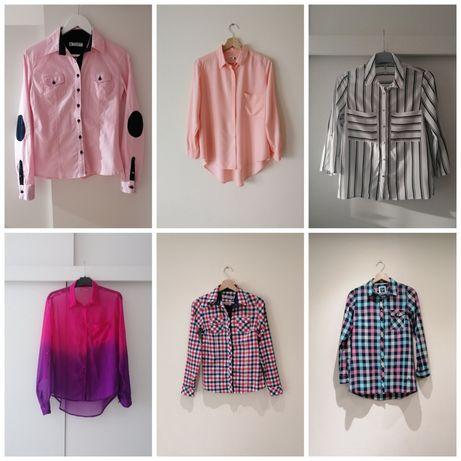 6-pak koszul damskich