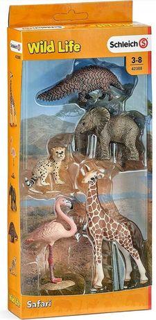 Schleich safari Wild life zestaw zwierząt nowe