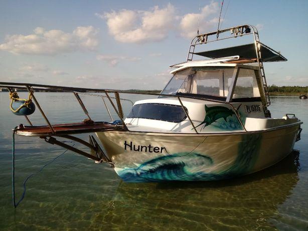 Sprzedam łódź motorową, kabinową
