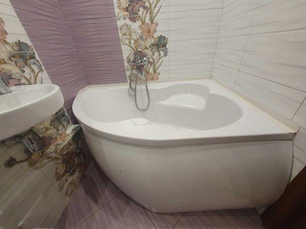 Акриловая ванна Cersanit правостороння 150x105