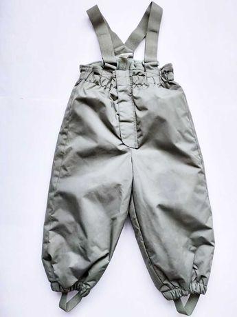 Зимний термо комбинезон полукомбинезон H&M штаны на шлейках НМ