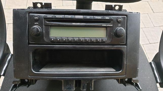Radio Becker DTM z nawigacją