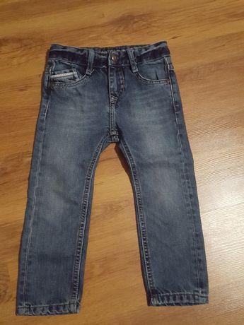 Spodnie/jeansy chłopięce WE 92