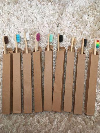 Escova dentes bambu