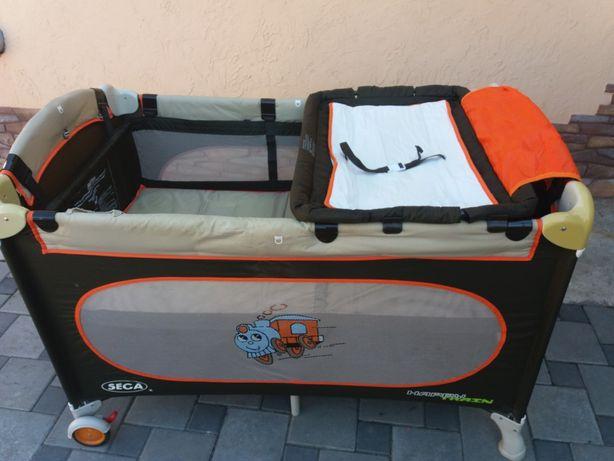 Детская кроватка-манеж SEGA