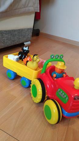 Zabawka traktor z odglosami
