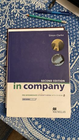 Підручник In Company 2nd Edition Pre-Intermediate Student's Book + CD-