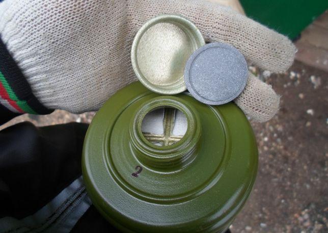 Фильтрующая коробка противогаза гп5 с хранения