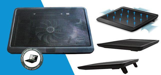 Охлаждающая подставка для ноутбука N19 до 15,6