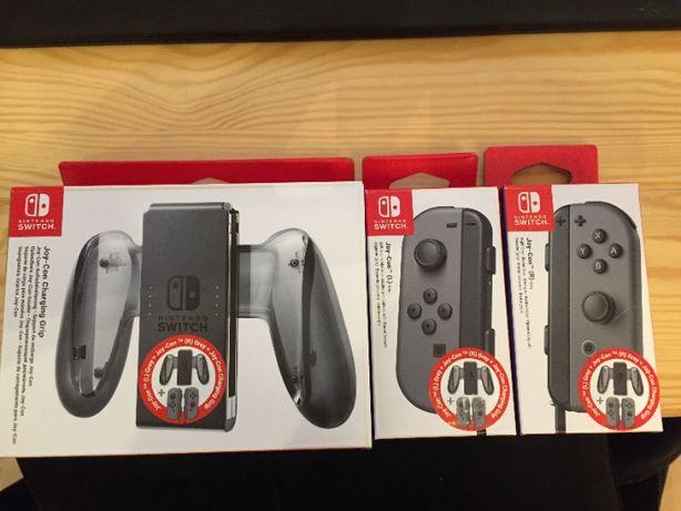 Nintendo Joycony Grey + Charging Grip