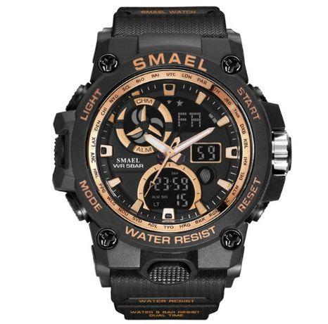 Nowy zegarek Smael Solidny męski zegar styl Wojskowy