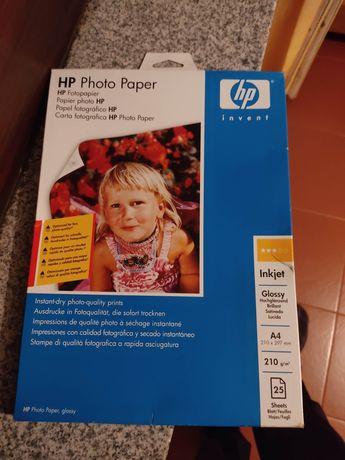 3x A4 GLOSSY 210gr HP Papel fotográfico