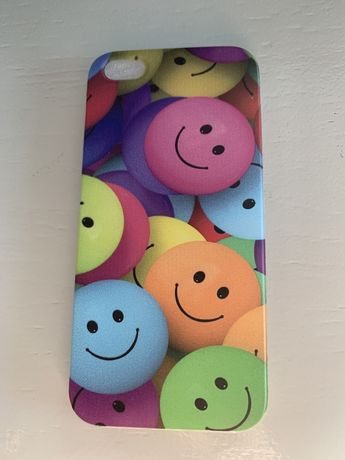 Iphone 5 5s 5se etui miekkie emotki kolorowe Nowe