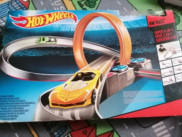Tor Hot Wheels 6w 1