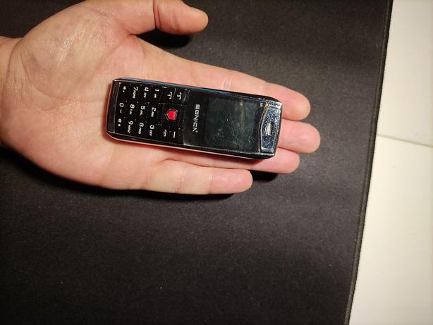 Mini telemóvel Dual Sim como novo