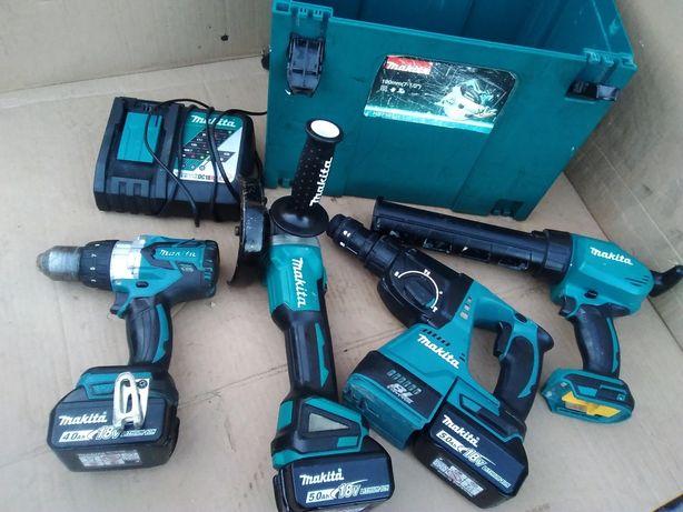 Zestaw narzędzi Makita DGA 504