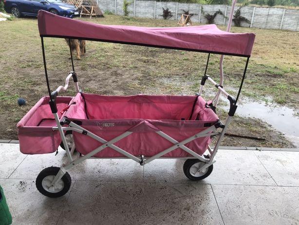 Fuxtec wózek plażowy transportowy