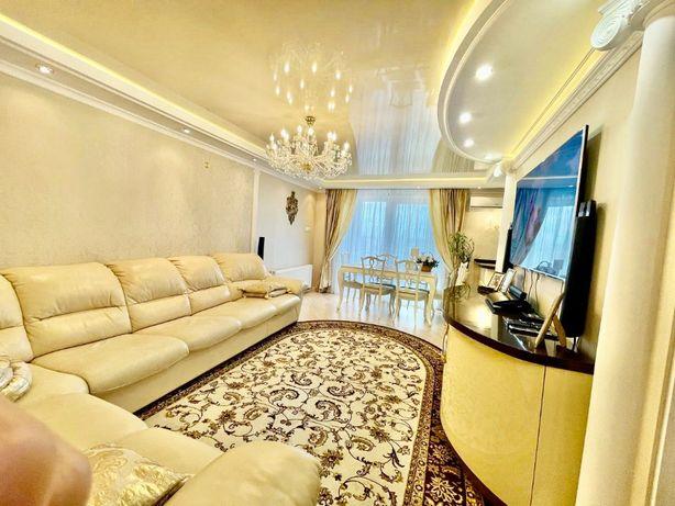 Продажа классной 4х комнатной квартиры в Центре.Ремонт,мбл,тхн,гараж.