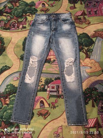 Продам классные джинсы бойфренды.