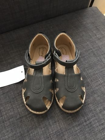 Sandałki Stups buciki skórzane