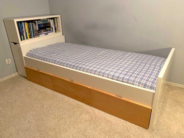 Łóżko Ikea - 90x200cm, białe