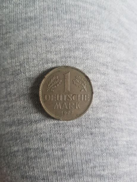 1 deutsche mark 1972