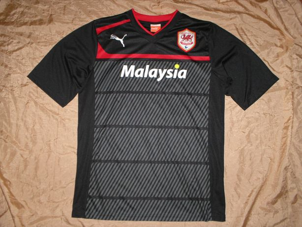 Фан коллекция футбол Cardiff City FC футболка Puma