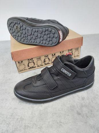 Кожаные кроссовки на липучках Camper р. 37