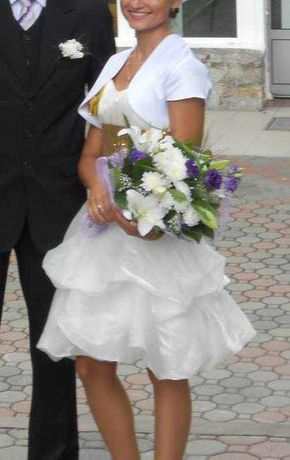 Suknia ślubna sukienka wieczorowa 34