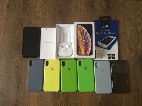 Iphone xs gold zloty gwarancja gratisy 3mk